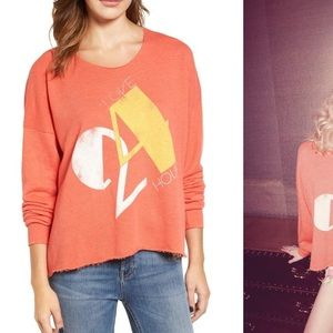 NWT • Wildfox • 5am Sweatshirt Love 24/7 New